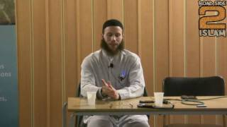 Why Yusha Joshua Evans Left Christianity For Islam - Part 2
