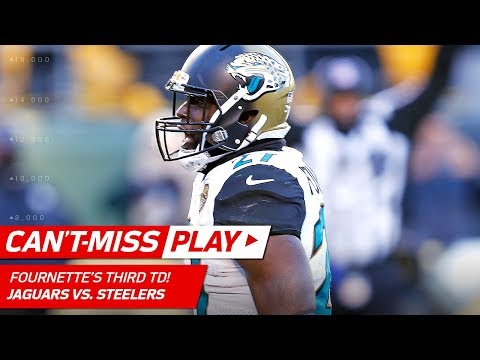 Video: Fournette's 3rd TD of the Day Set Up by Bortles' Huge Pass! | Can't-Miss Play | NFL Divisional HLs