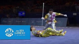 Nonton Wushu - Men's Duel Event - Weapon (Day 1) | 28th SEA Games Singapore 2015 Film Subtitle Indonesia Streaming Movie Download