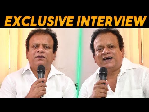 Exclusive Interview With Vasu Vikram Film Actor