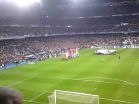 Real Madrid V Liverpool 25/02/2009