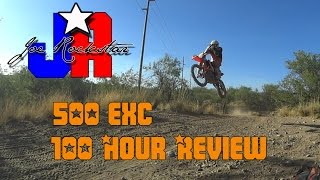 7. 2016 KTM 500 EXC review (100 hr review)