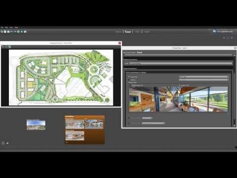 Floor Plan Hotspot Editor of Panotour Pro 2