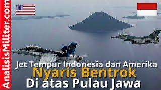 Video Pesawat Tempur Indonesia dan Amerika Nyaris Perang MP3, 3GP, MP4, WEBM, AVI, FLV November 2017