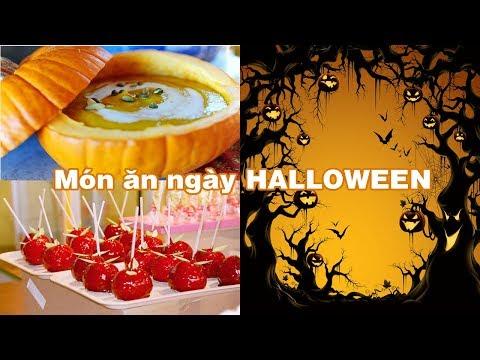 món ăn truyền thống trong ngày Halloween