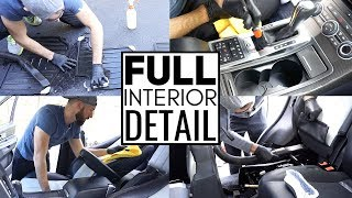 Video Complete Full Car Interior Cleaning! Car Detailing A Range Rover Sport Supercharged MP3, 3GP, MP4, WEBM, AVI, FLV Juli 2019