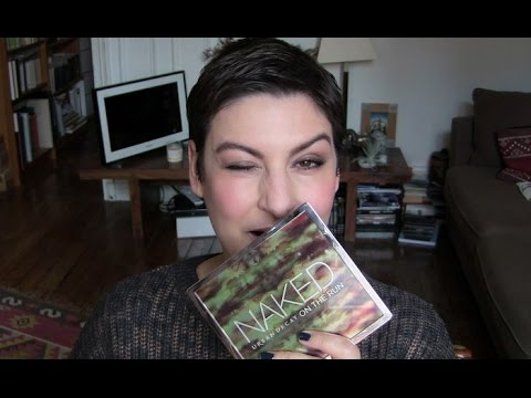 beaute Urban Decay Naked On the Run ! maquillage