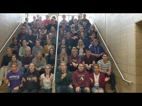 "NRHS Concert Choir, ""White Winter Hymnal"""
