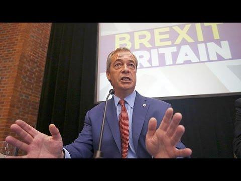 Brexit: «Θέλω πίσω τη ζωή μου!» λέει ο Νάιτζελ Φάρατζ