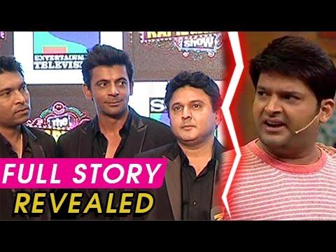 Kapil Sharma Hit Sunil Grover With A Shoe | Full S