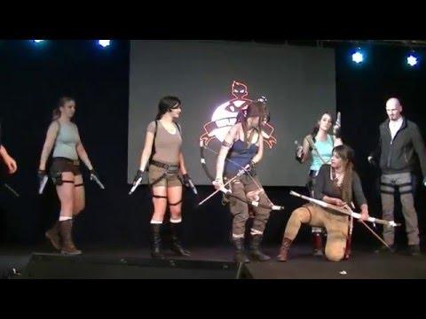 Rassemblement cosplay Tomb Raider aux Geek Days Lille