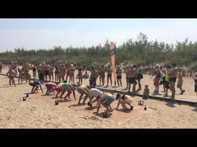 Crossfit plażą fitbyg