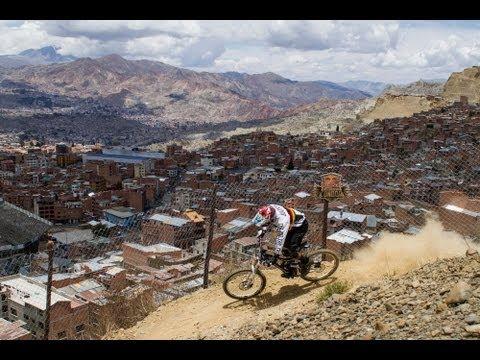 World's Highest Urban MTB Downhill Race – Red Bull Descenso del Condor 2012