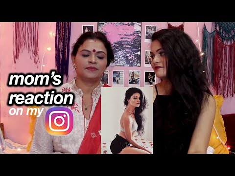 Video My INDIAN Mom Reacts To My Instagram Pictures ! download in MP3, 3GP, MP4, WEBM, AVI, FLV January 2017