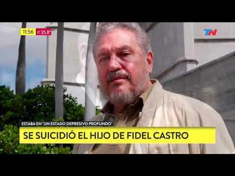 Se suicidó el hijo de Fidel Castro