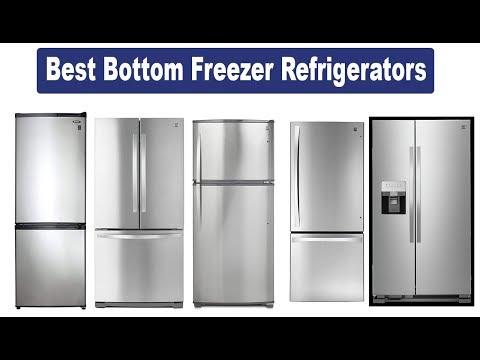 Top 5 Best Bottom Freezer Refrigerators   In-Depth Review