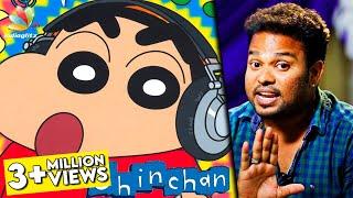 Amaithi Amaithi! : Voice of Shinchan REVEALED | Dubbing Artist Raghuvaran Interview