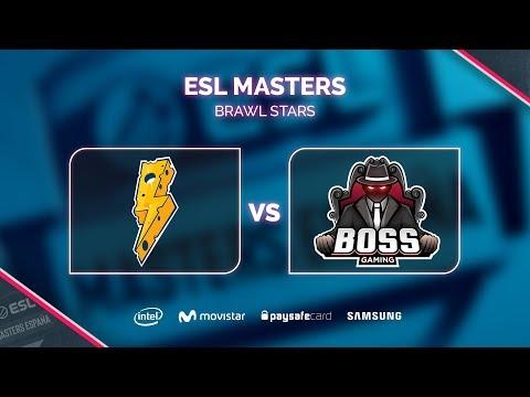 BS - Thunder Squad vs Boss Gaming - ESL Masters Brawl Stars S1 - Dia 1
