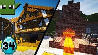 Transform a Minecraft Village into a Town E34