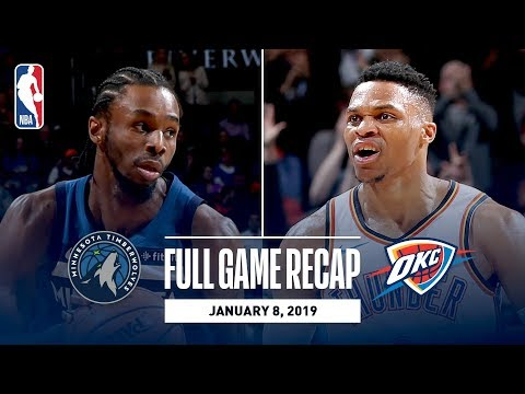 Video: Full Game Recap: Timberwolves vs Thunder | Wiggins Drops 40 In OKC