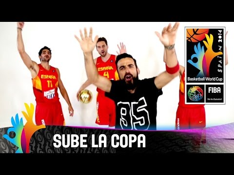 Official - Watch the video clip of the official song of the 2014 FIBA Basketball World Cup