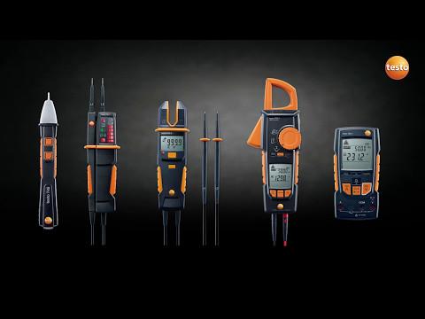 Измерение электрических параметров - testo 745 / testo 750 / testo 755 / testo 760 / testo 770