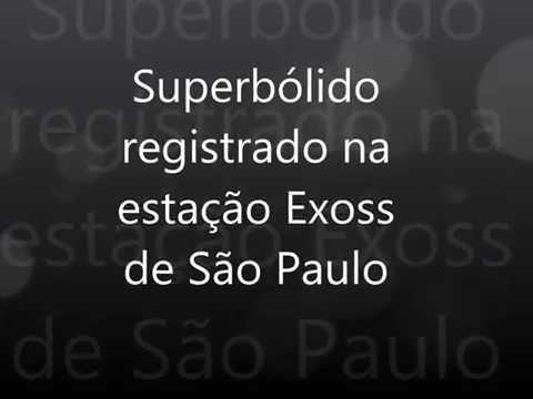 Super bolide over Rio de Janeiro by Exoss 2015 10 16 uploaded by Eduardo P.  Santiago