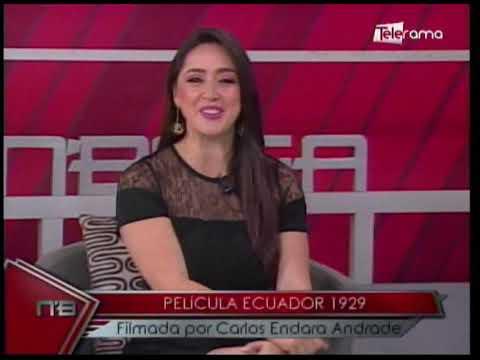 Película Ecuador 1929 filmada por Carlos Endara Andrade