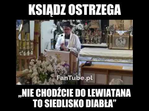 Szok! Ksiądz powiedział, że Lewiatan to siedlisko diabła!