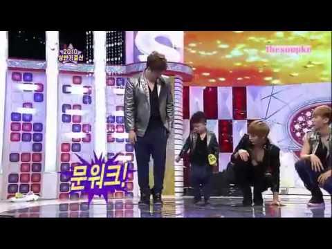 Video Cậu bé gốc Việt nhảy Bonamana của Super Junior trên Star King