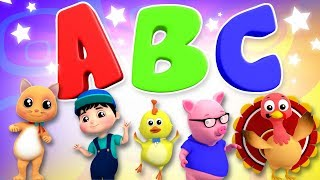 ABC Song | Learn Alphabets With Your Friends From Farmees