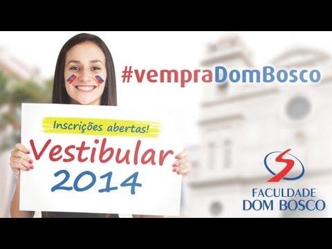 Vestibular Faculdade Dom Bosco de Piracicaba - 2014