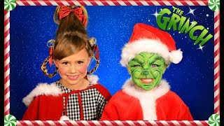 Video The Grinch and Cindy Lou Who Christmas Makeup, Hair, and Costumes MP3, 3GP, MP4, WEBM, AVI, FLV Mei 2019