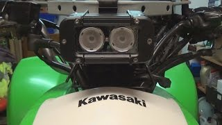 7. KFX 700 - additional LED light | + RP Tuning Exhaust sound