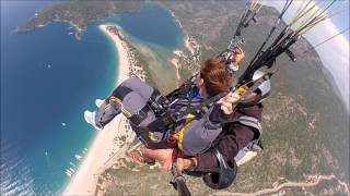 Oludeniz Turkey  City new picture : Paragliding Tandemsprong Sky Sports, Oludeniz Fethiye Turkey 2013