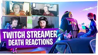KILLING FORTNITE TWITCH STREAMERS with REACTIONS! - Fortnite Funny Rage Moments ep3