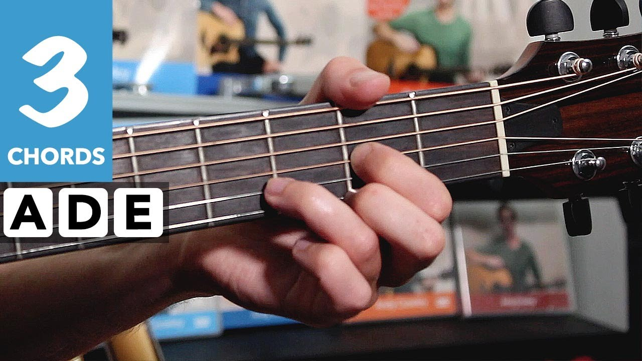 How to play That's Alright Mamma – Guitar songs with three EASY chords