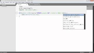 PHP And MySQL With MySQLi: Updating And Deleting (Part 5/9)