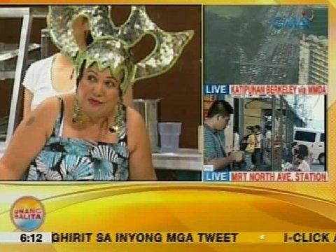 celebrity - Unang Balita is the news segment of GMA Network's daily morning program, Unang Hirit. It's anchored by Rhea Santos and Arnold Clavio, and airs on GMA-7 Mondays to Fridays at 5:15 AM (PHL Time)....