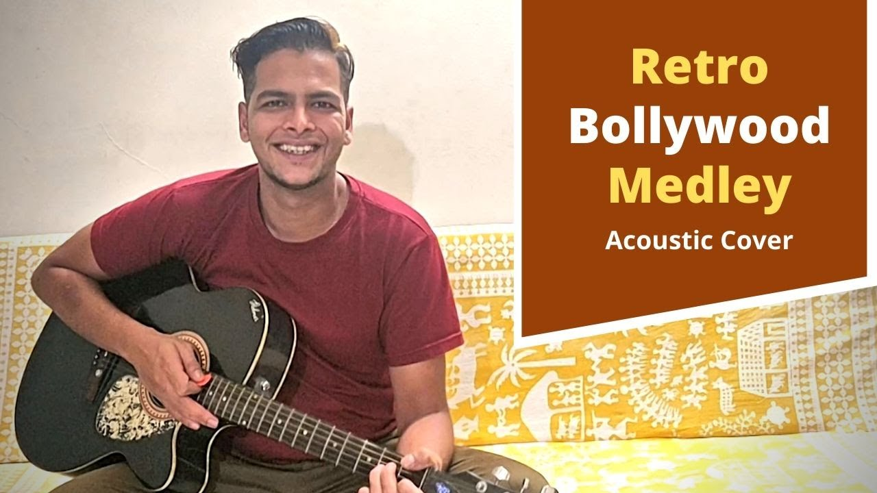 Old Bollywood Songs Mashup | Acoustic Guitar Cover | Zom-B