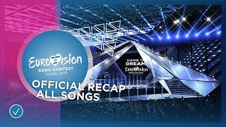Video OFFICIAL RECAP: All 41 songs of the 2019 Eurovision Song Contest MP3, 3GP, MP4, WEBM, AVI, FLV Maret 2019