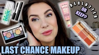 FULL FACE OF MAKEUP ON THE CHOPPING BLOCK... Declutter or Keep? by Beauty Broadcast