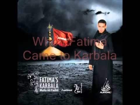 MAF110786 - Mulla Ali Fadhil's inaugural album consisting of poetry and lamentations remembering the tragedy of Karbala and Imam Hussain (as). When Fatima came to Karbal...