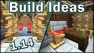 Minecraft 1.14 Build Ideas Tips and Tricks