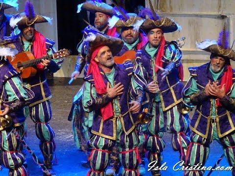 Comparsa «Las batallitas del Capitan Alegria» (Ayamonte) Preliminares