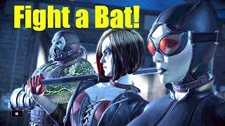 Video Batman & Joker Fighting Harley, Catwoman and Bane -Every Single Choice- The Enemy Within Ep5 MP3, 3GP, MP4, WEBM, AVI, FLV Oktober 2018