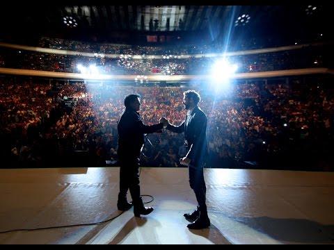 Juan Gabriel con David Bisbal