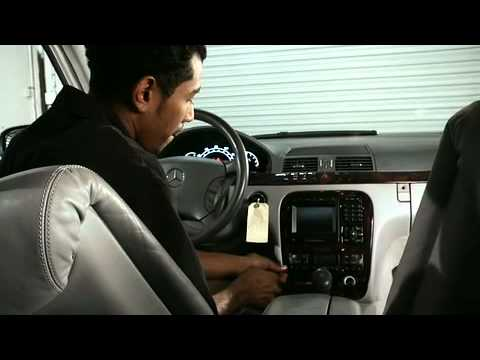 Removing the Navigation Control For Mercedes Benz