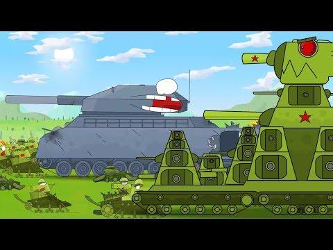 KB 44 Desenhos animados completos 30 MIN. Dibujos tanquesde guerra. Coches monstruos animados.