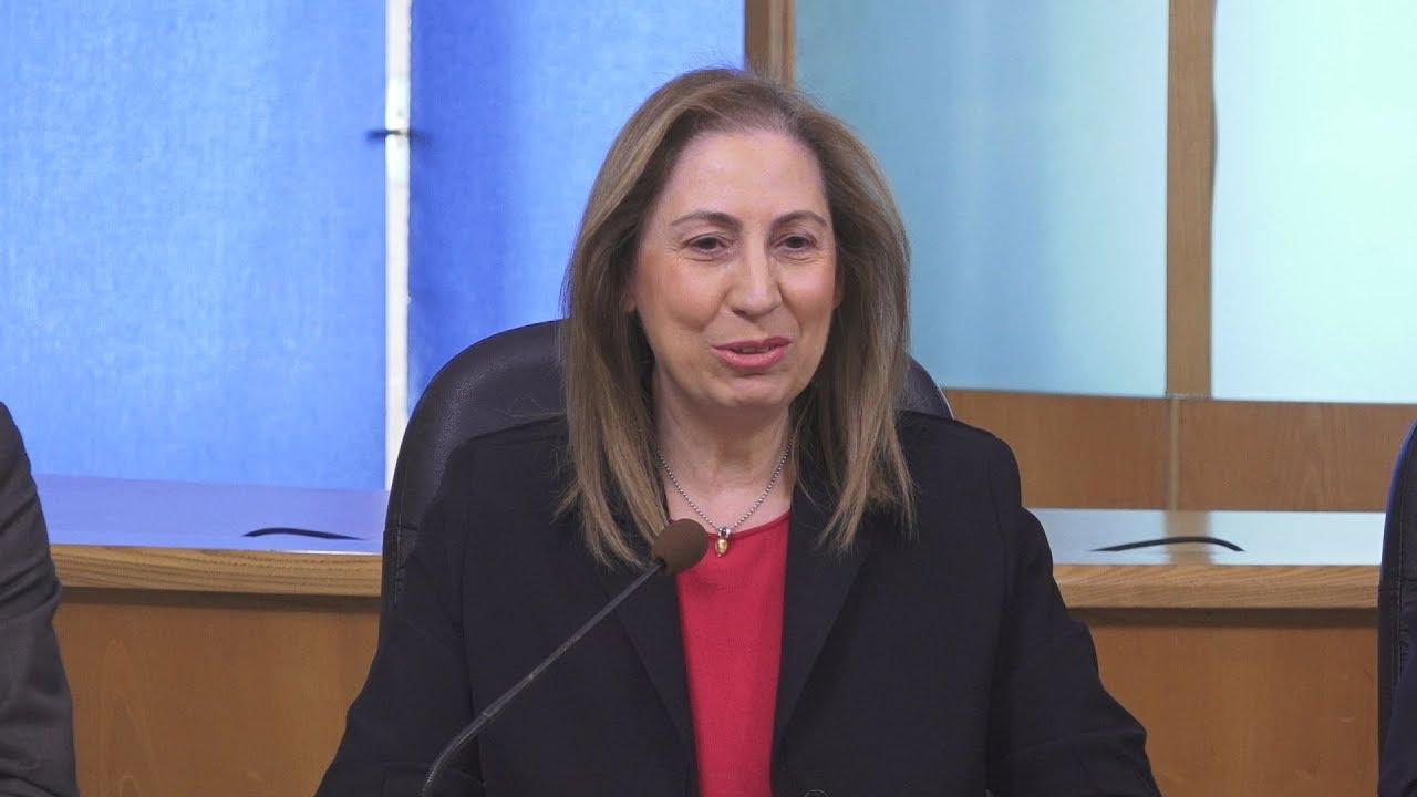 Συνέντευξη Τύπου της υπουργού Διοικητικής Ανασυγκρότησης Μαριλίζας Ξενογιαννακοπούλου